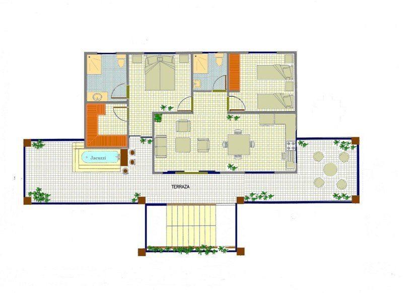Residence5-penthouse-pianta penthouse